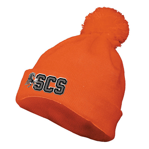 Schuylerville Solid Pom-Pom Beanie- 3 Colors