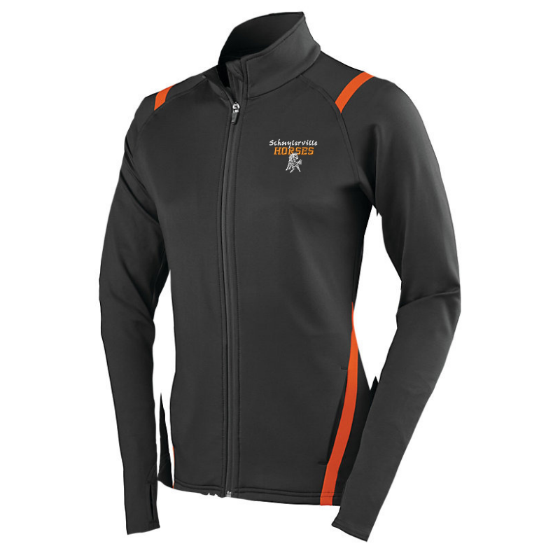 Schuylerville Two-Tone Full Zip Jacket- Girls & Ladies