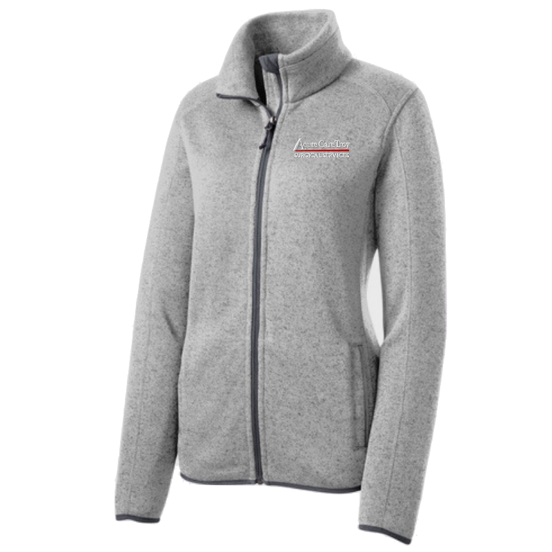 Acute Care Sweater Full Zip- Ladies & Men's, 2 Colors