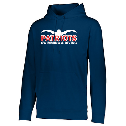 Schenectady Swimming & Diving Performance Hoodie- Youth & Adult