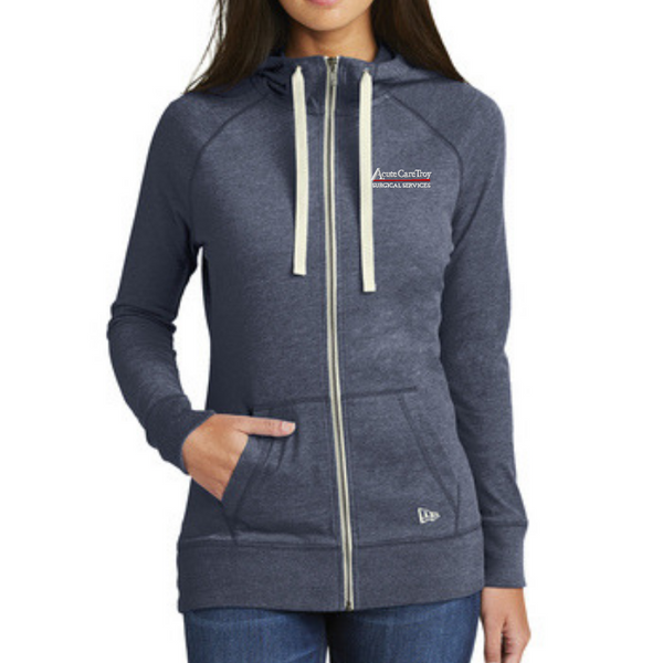 Acute Care Lightweight Full Zip Hoodie- Ladies & Men's, 2 Colors