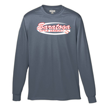 Load image into Gallery viewer, Saratoga Little League Long Sleeve Performance Shirt- Youth, Ladies & Men's, 3 Colors