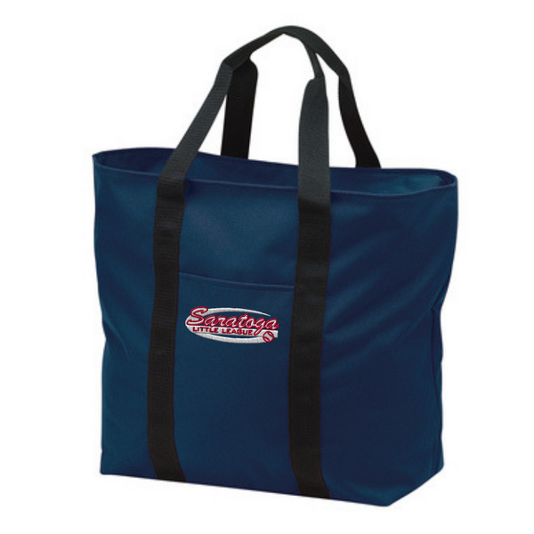 Saratoga Little League Large Tote Bag- 2 Colors