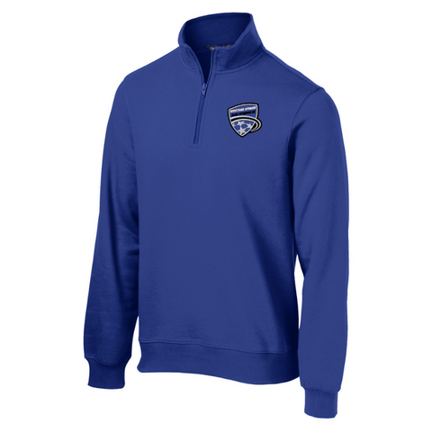 Saratoga Soccer 1/4 Zip Sweatshirt- Ladies & Men's, 4 Colors