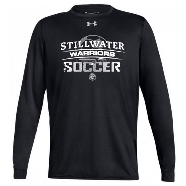 Stillwater Soccer Under Armour Long Sleeve Performance Tee- Ladies & Men's, 2 Colors
