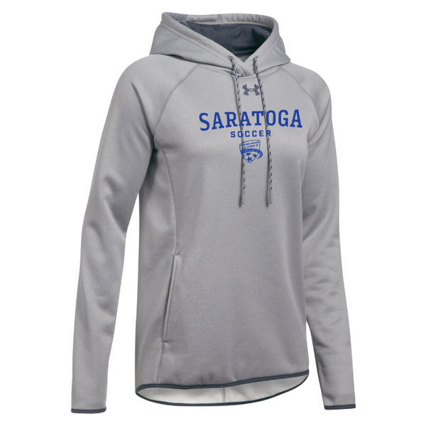 Saratoga Soccer Under Armour Performance Hoodie- Ladies & Men's, 3 Colors