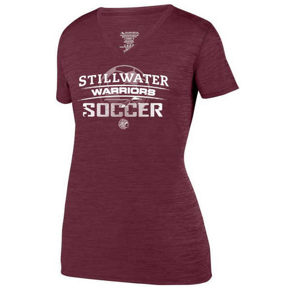 Stillwater Soccer Tonal Heather Performance Tee- Youth, Ladies & Men's, 3 Colors