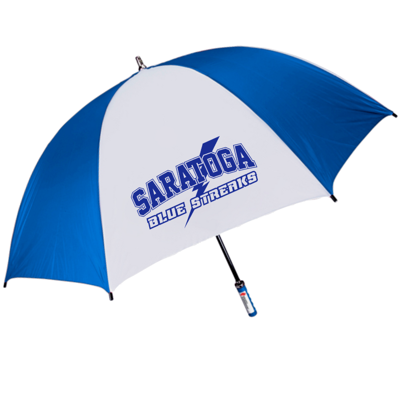 Saratoga Blue Streaks Umbrella