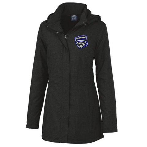 Saratoga Soccer Full Zip Heavyweight Parka Jacket- Ladies & Men's, 2 Colors