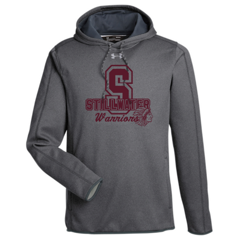 Stillwater Warriors Under Armour Performance Hoodie- Ladies & Men's, 3 Colors