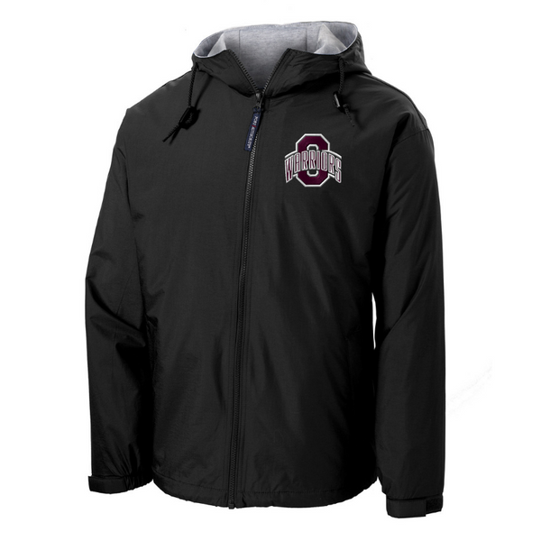 Stillwater Warriors Full Zip Hooded Jacket- Youth & Adult, 2 Colors