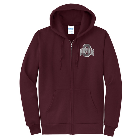 Stillwater Warriors Full Zip Hooded Sweatshirt- Youth & Adult, 3 Colors