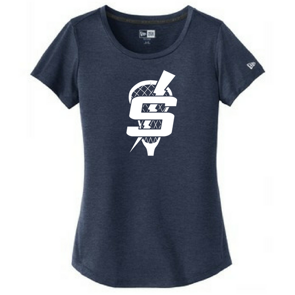 Saratoga Lacrosse Performance Tee- Ladies & Men's, 2 Colors
