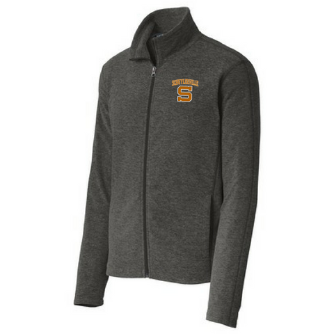 Schuylerville Horses Heathered Full Zip Fleece- Ladies & Men's, 2 Colors