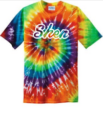 Load image into Gallery viewer, Shen & Shen Strong Adult Tie-Dye T-shirt -- 3 logos, 3 Colors