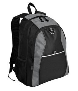 Port Authority Contrast Honeycomb Backpack - Add Logo!