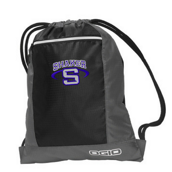 Shaker Two-Tone Drawstring Bag- 3 Colors
