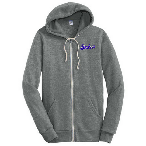 Shaker Full-Zip Hoodie- Juniors & Young Men's, 3 Colors