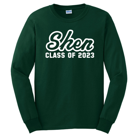 Shen Class of 2023 Long Sleeve Tee- Youth & Adult