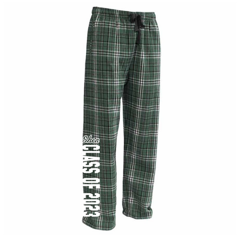 Shen Class of 2023 Flannel Pants- Youth & Adult, 3 Colors