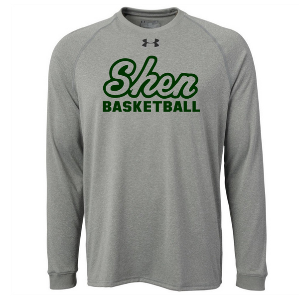 Shen Basketball Under Armour Long Sleeve Performance Tee- Ladies & Men's, 2 Colors