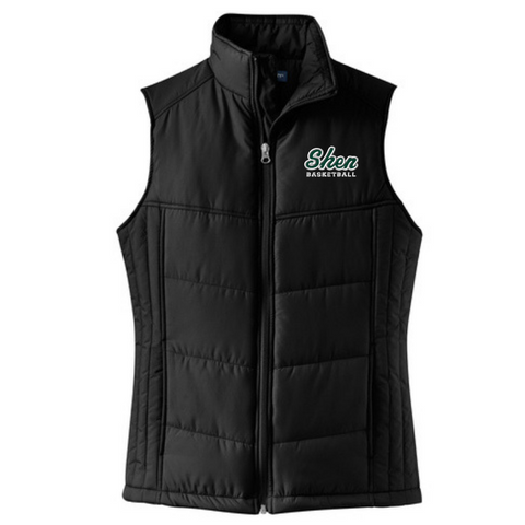 Shen Basketball Puffy Vest- Ladies & Men's, 2 Colors