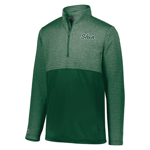 Shen Textured 1/4 Zip Performance Pullover- Ladies & Men's, 3 Colors