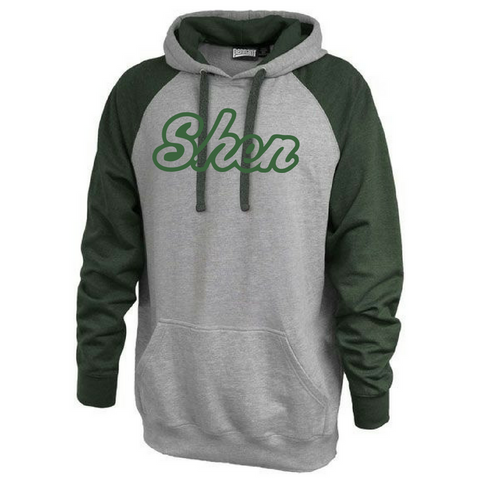 Shen Plainsmen Colorblock Hooded Sweatshirt
