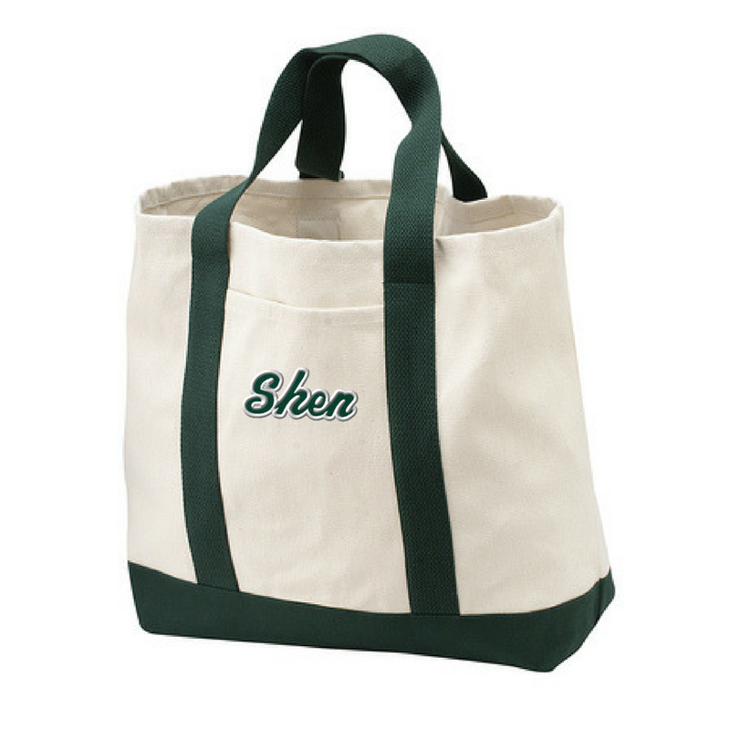 Shen Plainsmen Two-Tone Tote- 2 Colors
