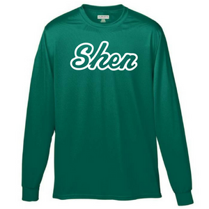 Shen Plainsmen Long Sleeve Performance Shirt- Youth & Adult, 2 Colors