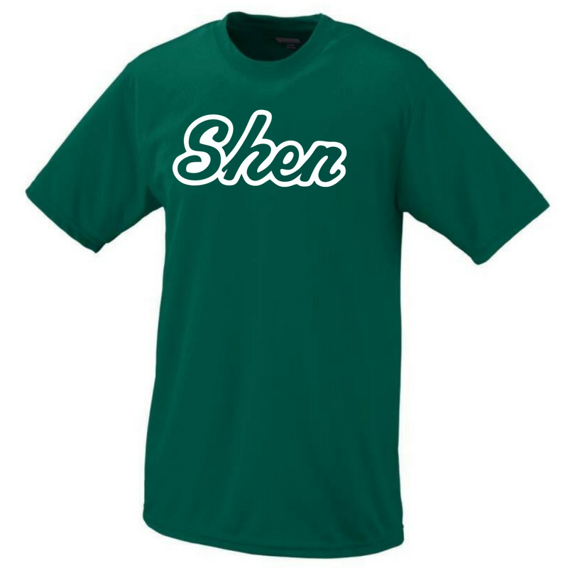 Shen Plainsmen Short Sleeve Performance Tee- Girls, Youth, Ladies, & Men's, 3 Colors