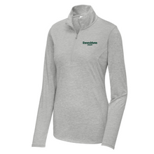Load image into Gallery viewer, Shen Staff Lightweight Tri-Blend 1/4 Zip Pullover- Ladies & Men's, 3 Colors