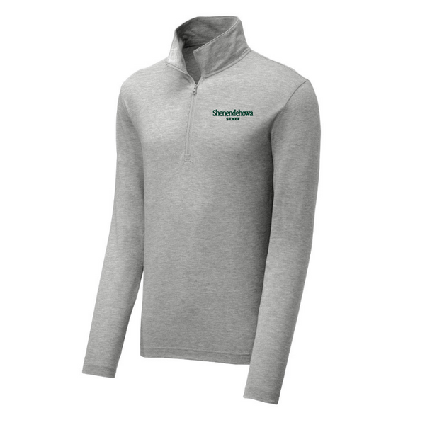 Shen Staff Lightweight Tri-Blend 1/4 Zip Pullover- Ladies & Men's, 3 Colors