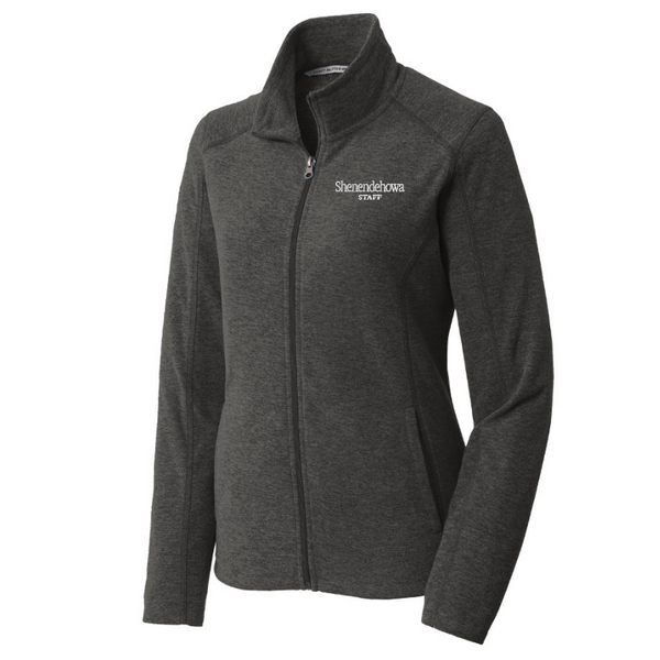 Shen Staff Heathered Full Zip Micro-Fleece- Ladies & Men's, 2 Colors
