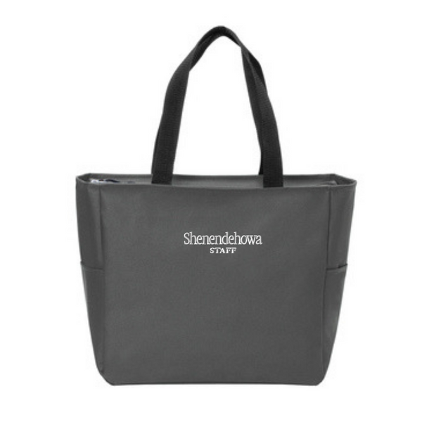 Shen Staff Zipper-Top Tote Bag- 4 Colors