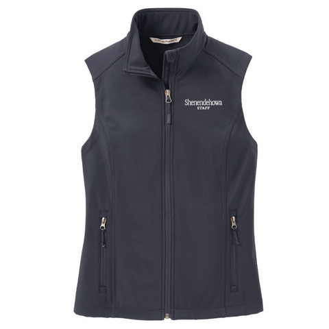 Shen Staff Soft Shell Vest- Ladies & Men's, 3 Colors