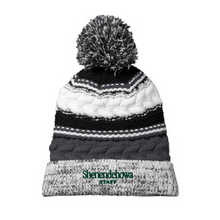 Load image into Gallery viewer, Shen Staff Pom-Pom Beanie- 2 Colors