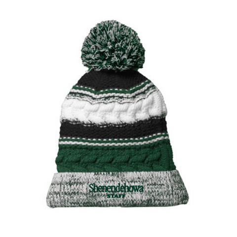 Shen Staff Pom-Pom Beanie- 2 Colors