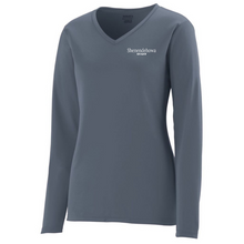 Load image into Gallery viewer, Shen Staff Long Sleeve Performance Shirt- Ladies & Men's, 3 Colors