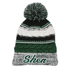 Load image into Gallery viewer, Shen Plainsmen Pom Pom Beanie- 2 Colors
