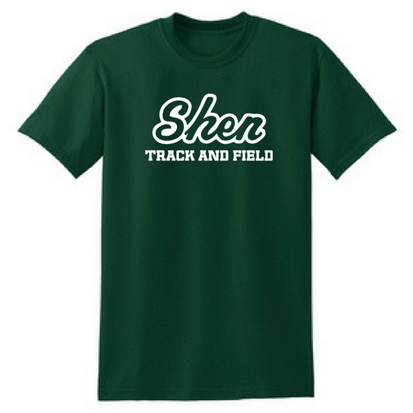 Shen Track & Field Cotton Tee- Youth & Adult, 3 Colors