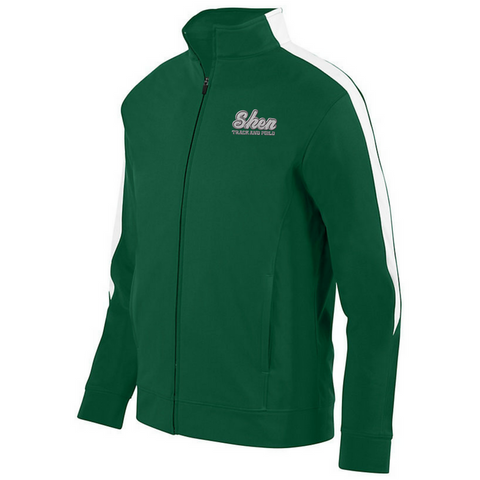 Shen Track & Field Full Zip Performance Jacket- Youth, Ladies & Men's, 3 Colors