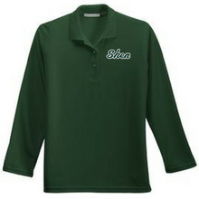 Load image into Gallery viewer, Skano/Shen Long Sleeve Polo- Ladies & Men's, 3 Colors