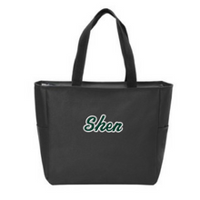 Load image into Gallery viewer, Skano/Shen Zipper-Top Tote Bag- 3 Colors