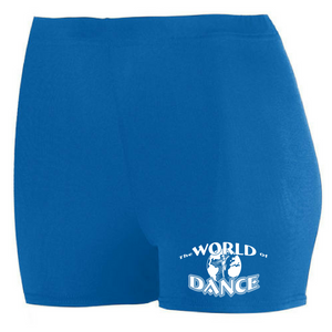 World of Dance Spandex Shorts - Girls & Ladies, 2 Colors