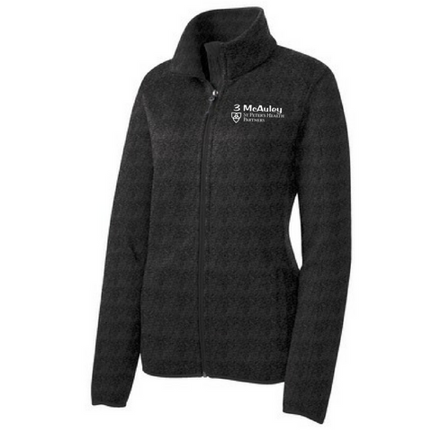 St. Peter's Ladies Sweater Fleece Full Zip- 4 Colors