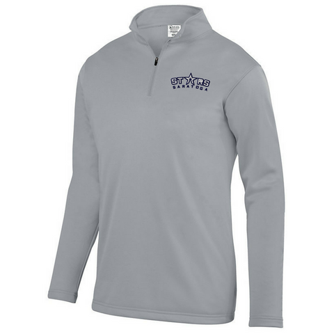 Saratoga Stars 1/4 Zip Performance Pullover- Youth, Ladies & Men's, 2 Colors