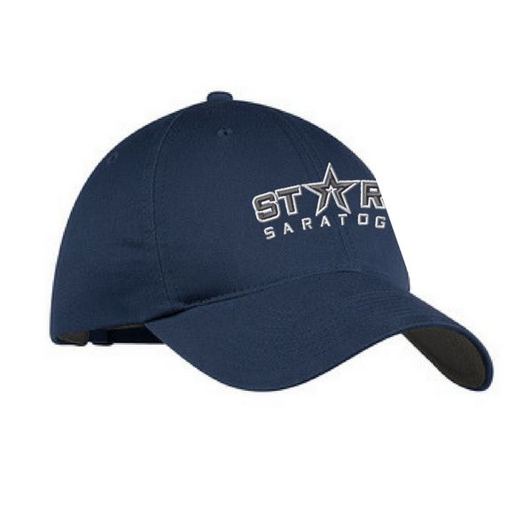 Saratoga Stars Nike Unstructured Adjustable Hat- 3 Colors