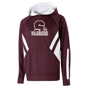 Stillwater Warriors Two-Tone Performance Hoodie- Youth & Adult, 2 Colors