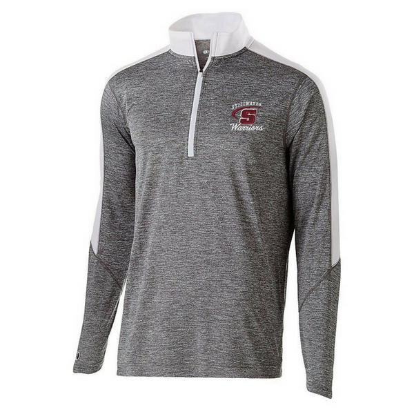 Stillwater Warriors Heather 1/4 Zip Pullover- Youth, Ladies, & Men's, 3 Colors